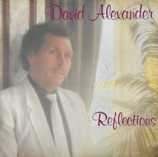 David Alexander ‎- Reflections (LP) (Signed) (G++/VG-)